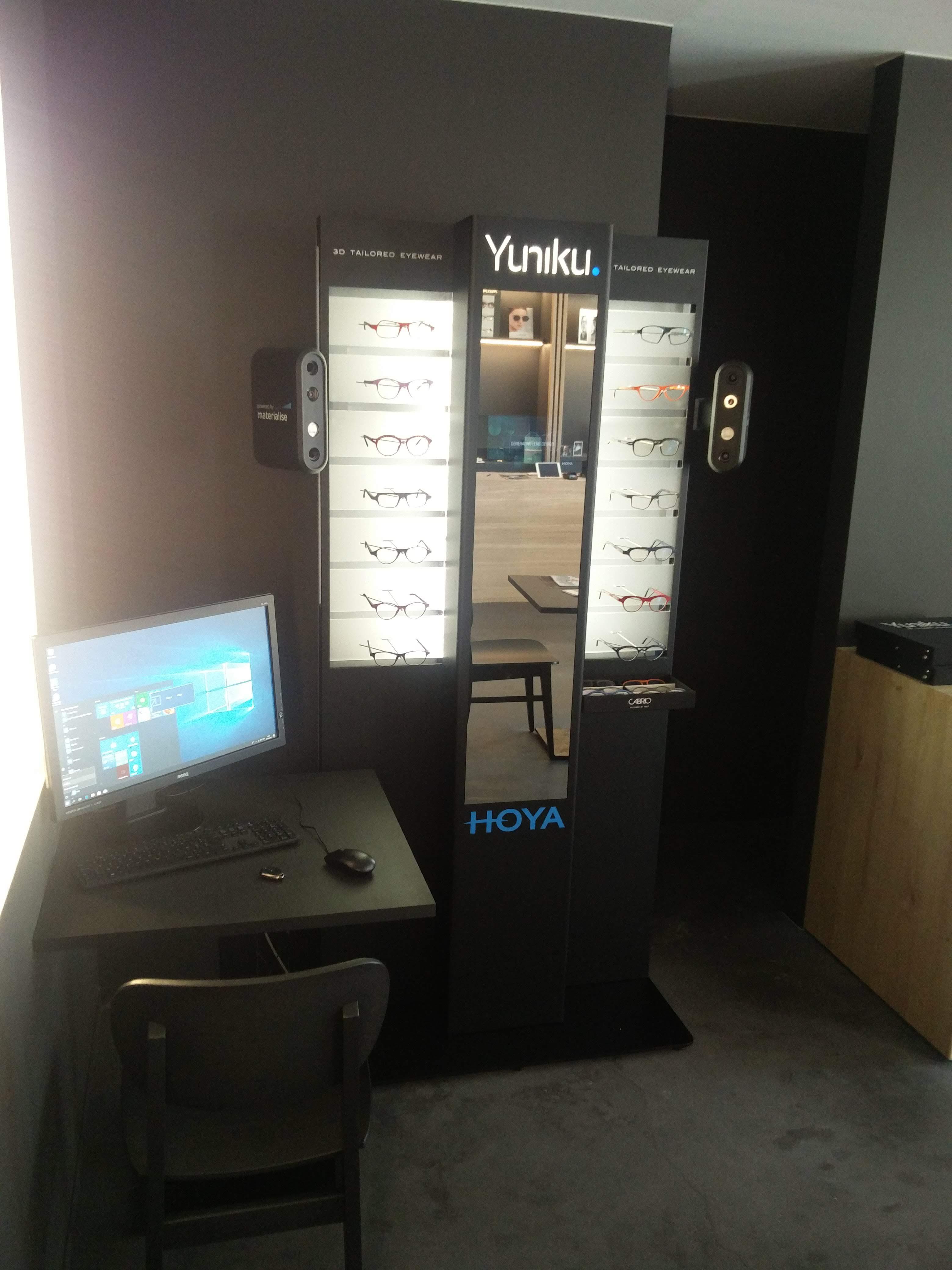 Nieuwe technologie in de winkel, Yuniku van Hoya!